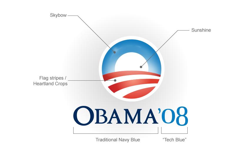 شباهت لوگوی جو بایدن و اوباما